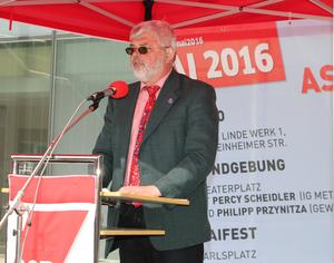 Kundgebung Rudi Großmann
