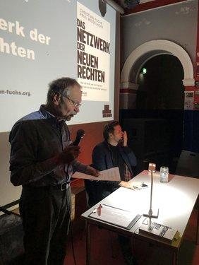 Klaus Hofmann führte durch den Abend