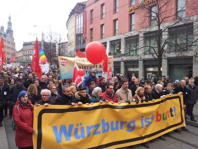 Würzburg ist bunt