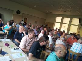 Delegiertenversammlung der IG Metall Würzburg in Eibelstadt