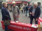 Informationsstand Würzburg