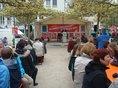 Kundgebung am dem Georg-Wichtermann-Platz