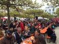 Teilnehmer der Maikundgebung