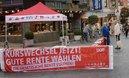 Informationsstand Aschaffenburg