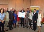 Schweinfurt ist bunt feiert den Friedenspreis